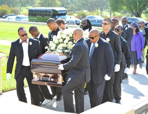 michael clarke duncan funeral casket beautiful scenery