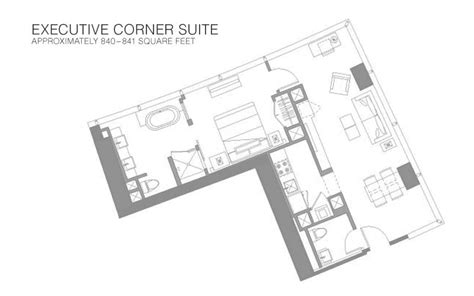 vdara panoramic suite floor plan vdara rooms suites