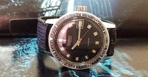 Cermin Acrylic s treasure chest of time pieces authentic waltham blancpain divers gents wristwatch
