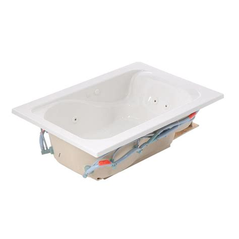 5 ft jacuzzi bathtub american standard cadet 5 ft x 42 in reversible drain