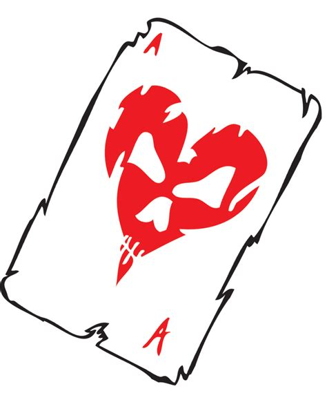 ace hearts card clipart best