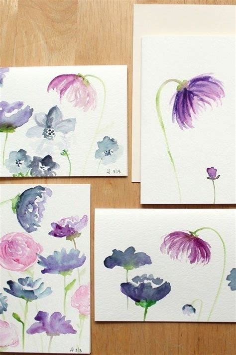 best 25 easy watercolor ideas on easy