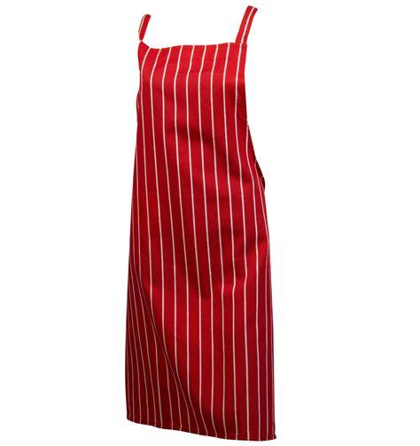 Stripe Apron woven stripe butchers bib apron 100 cotton professional