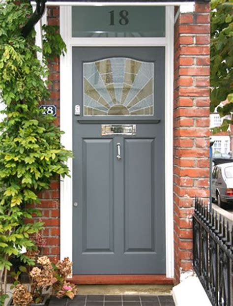 chalk paint upvc 25 best ideas about grey front doors on gray