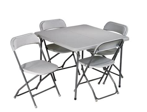 small card table amazon amazon deal 5 piece folding table and chairs only 99