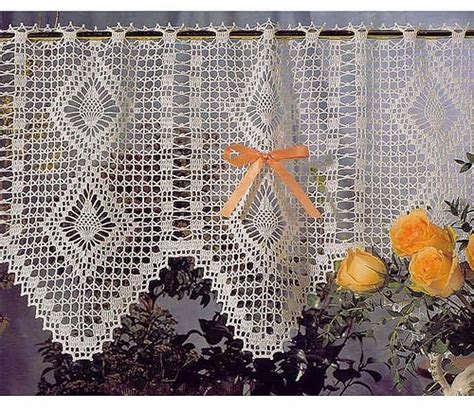 crochet curtain pattern valances crochet patterns