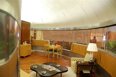 dymaxion house living room interior by musebrarian