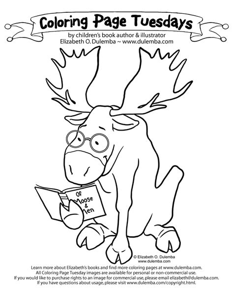 Coloring Page Tuesdays by Dulemba Coloring Page Tuesday Reader