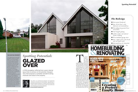 building design magazine uk tony holt article in home building and renovating magazine