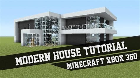 Minecraft House Design Ideas Xbox 360 Large Modern House Tutorial Minecraft Xbox 360 2