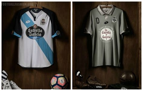Promo Jersey Deportivo La Coruna Away 2016 2017 Grade Ori deportivo de la coru 241 a 2016 17 lotto home away and third