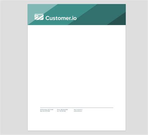 Us Bank Letterhead The Story Of Customer Io S Logo Customer Io
