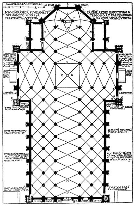 Milan Cathedral Floor Plan | cathedral plan and dc map