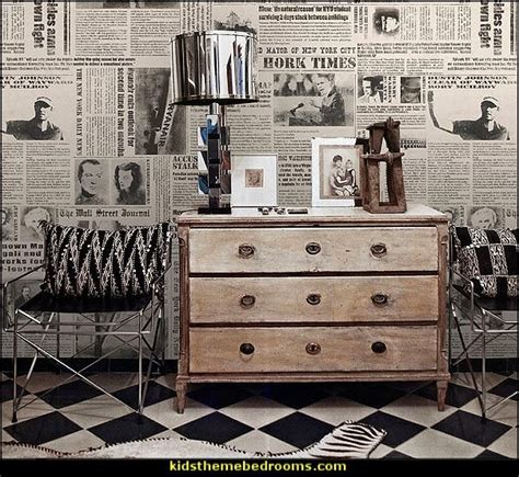 newsprint comforter decorating theme bedrooms maries manor newsprint