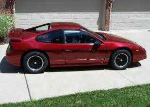 1988 Pontiac Fiero Gt For Sale 1988 Pontiac Fiero Pictures Cargurus