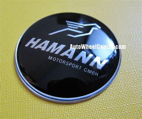 Emblem Stir Bmw Hamann 45mm bmw hamann steering wheel horn emblem 45mm black chrome silver bird motorsport gmbh aluminum