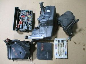 nissan rogue sport engine compartment fuse box oem