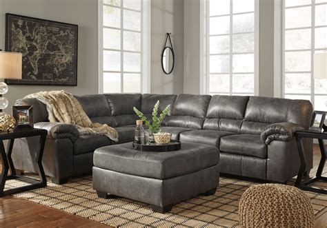 laf sectional bladen slate 3pc laf sofa sectional