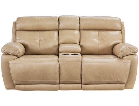 recliner collection slumberland rhodes collection tan power reclining