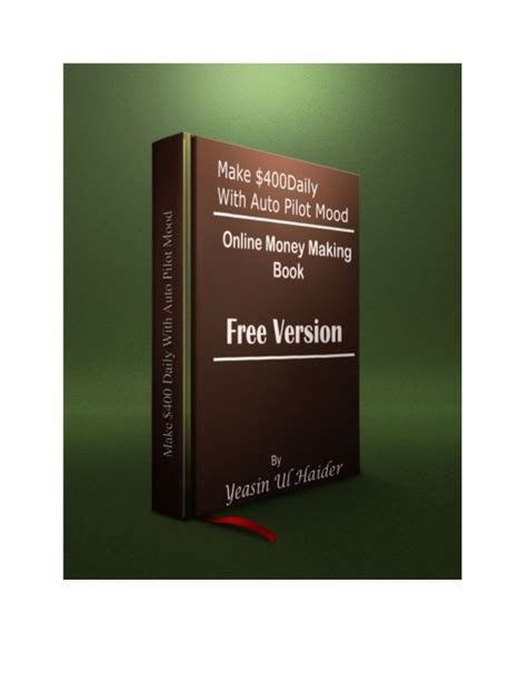 Genuine Money Making Online - make money online a free ebook with real online money making secret