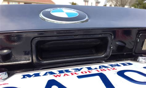 2000 bmw 323i trunk release bmw e46 trunk release button