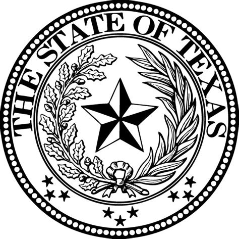 pin texas state symbols coloring pages on pinterest