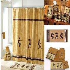 Kokopelli Bathroom Accessories Kokopelli Southwest Indian Bath Fabric Shower Curtain Home Trends Http Www Dp