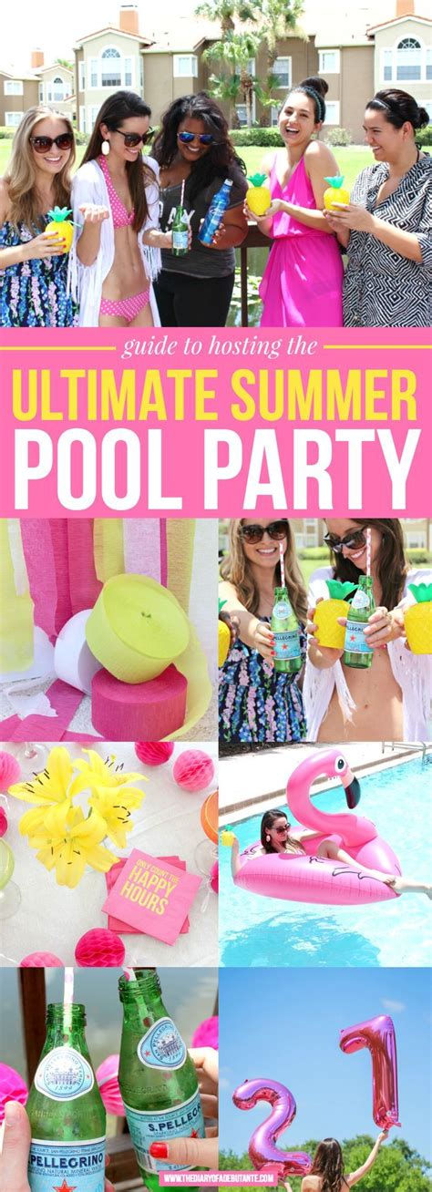 summer party themes for adults best 25 pool party themes ideas on pinterest kid pool