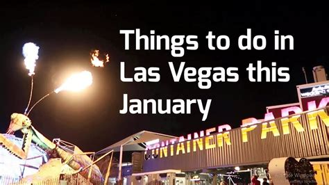 things to do in las vegas january 2018