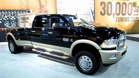 2013 Ram 3500 Laramie Long Horn   Exterior and Interior