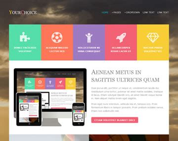 Yourchoice Website Template Free Website Templates Os Templates Site Template Free