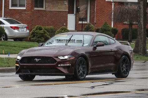 2017 Popular Paint Colors by 2018 Mustang Refresh Released 2018 Mustang Photos Cj