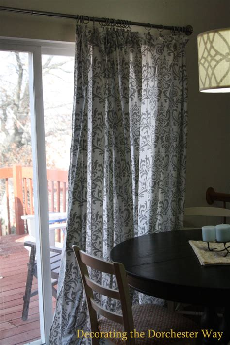 Decorating the dorchester way patio door extra wide curtains