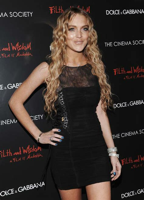 Who Wore Dolce Gabbana Better Or Lindsay Lohan by Lindsay Lohan Says She May Run For President In 2020