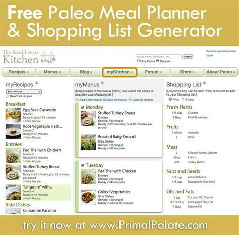free printable grocery list paleo 17 best images about paleo meal plans on pinterest