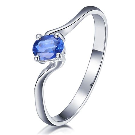 inexpensive beautiful sapphire engagement ring on 10k