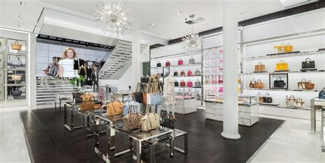 Vintage Glass Chandeliers Michael Kors Store In Soho Is The Brand S Largest Flagship