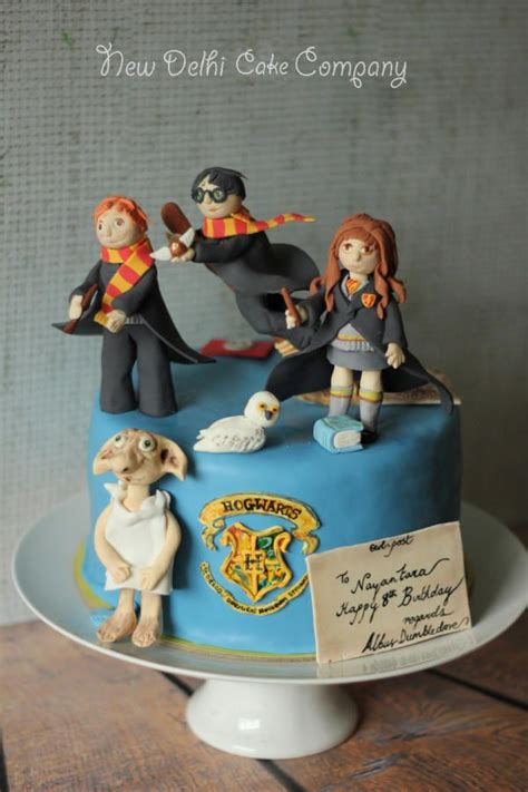 harry potter inspired cake for all your cake decorating