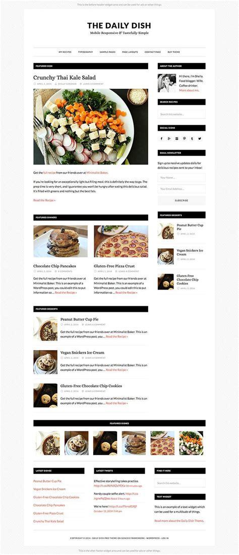 blogger free wordpress theme wpexplorer daily dish food blog wordpress theme wpexplorer