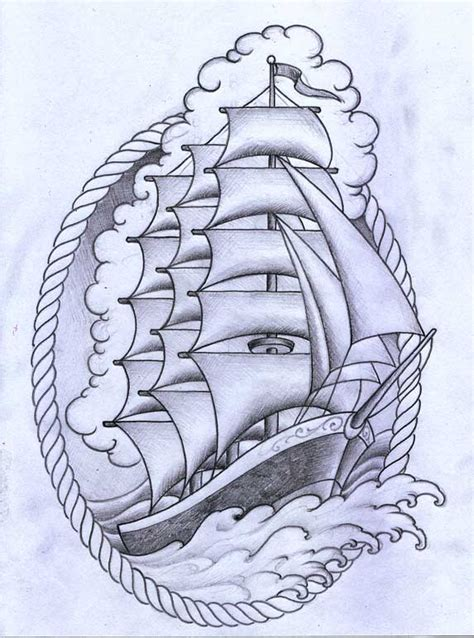 traditional nautical tattoos ship by terokiiskinen on deviantart flash