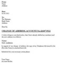 Business Letter Format Change Address Sample Letter Informing Change Of Address Serversdb Org