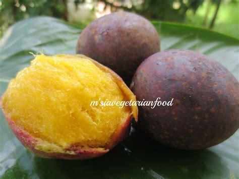 Mango Kuini kuini malaysia vegetarian food