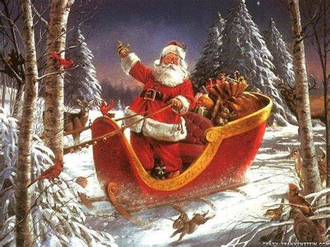 images of christmas father father christmas wallpaper christian wallpapers and