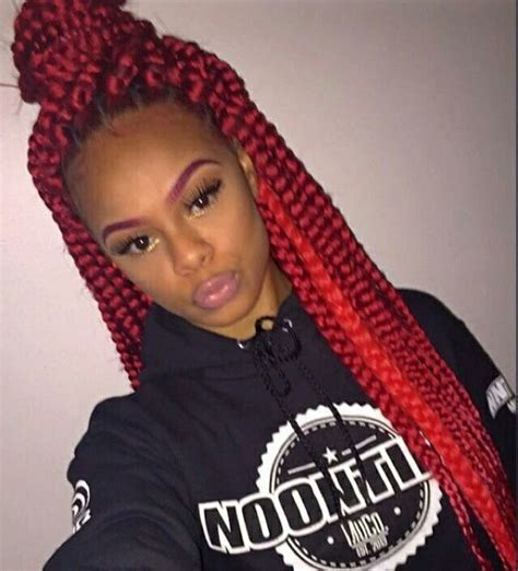 box braids with a beach hat 17 best ideas about colored box braids on pinterest box