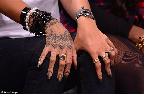 rihanna wrist tattoo rihanna new 2014 www imgkid the image kid