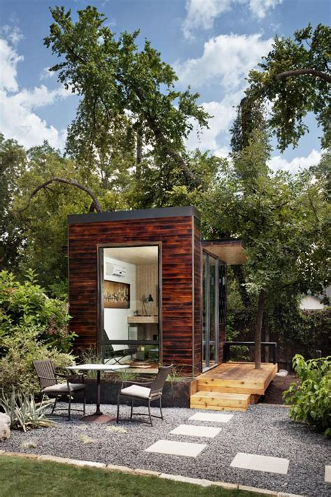 bungalow backyard backyard bungalows studio spaces that fit in your