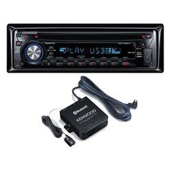 Kenwood Kca Bt100 kenwood kdc w4537u with kenwood kca bt100 bluetooth kit co uk electronics