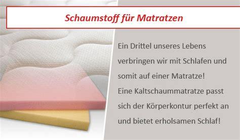 matratzen schaumstoff schaumstoff f 252 r matratzen nach ma 223 kaufen balzer24 de