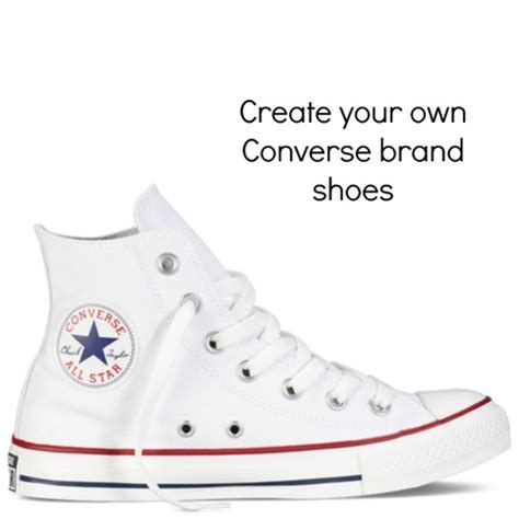 create your own converse brand shoes hi tops s and