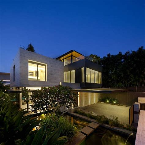 Obras Malam the travertine home in singapore